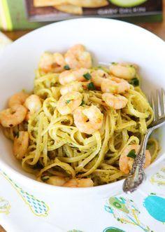 Shrimp & Avocado Pasta