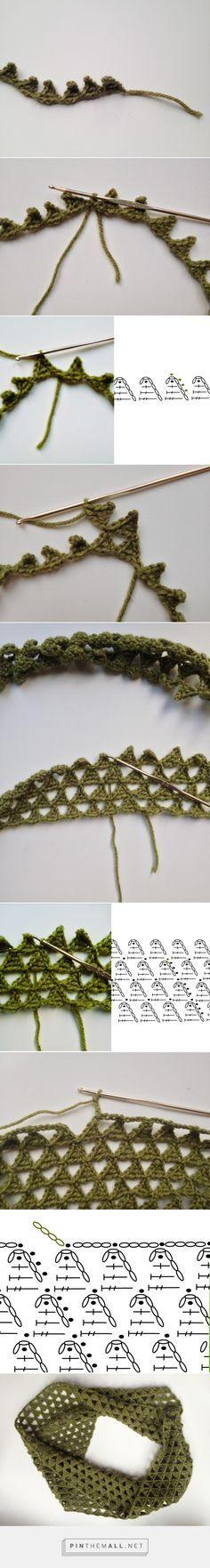 Mejores 3507 imágenes de Crochet - motif - schema en Pinterest en ...