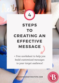 Grab our WORKSHEET on creating an effective message in our bio and follow along! Step 1: THE TARGET: Who is my audience for this message? Step 2: THE MESSAGE: What is the solution I am providing? Step 3: THE DIFFERENTIATION: How am I different from the competition? Step 4: THE PROOF: Why should they believe my message?