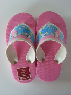 Little Twin Stars little summer shoes 1976