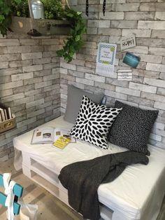 DIY Couch aus Europaletten