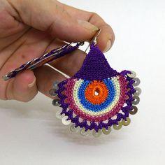 Eye Earrings / Tatting jewellery / Summer Earrings / Lace Jewelry / Crochet Earrings / Needle Lace Earring by NazoDesign on Etsy https://www.etsy.com/listing/217967461/eye-earrings-tatting-jewellery-summer