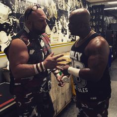 When the #DudleyBoyz formulate a plan of attack, you know there will be #Tables involved! #RAW