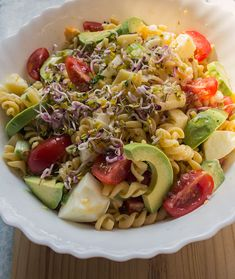 summer salad, pasta salad, Pasta Salad, Cobb Salad, Summer Salads, Avocado, Food, Crab Pasta Salad, Lawyer, Essen, Summer Salad