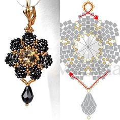 Marina Shamshura's photos | VK Diy Christmas Earrings, Christmas Diy, Crochet Earrings, Jewelry, Photos, Patterns, Top, Fashion, Beading