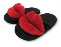 Slide your feet or treat that special someone to a night a pleasure via this set of RedHot Lips Slippers.A fun gift idea for birthdays, wedding gifts, anniver