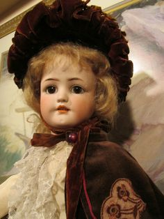 SIMON & HALBIG DOLL , MOLD 550 , PERFECT BISQUE ,22IN. TALL