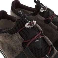 Mens Dark Grey Paul Smith Shoes Buck 531 Trainers | schuh