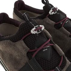 Mens Dark Grey Paul Smith Shoes Buck 531 Trainers   schuh