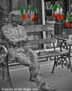 Irish Poet Patrick Kavanagh ~ Downtown Disney