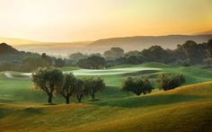 The Dunes Golf Course at Costa Navarino Resort, Messenia, Greece. Greece Resorts, Greece Tourism, Known Unknowns, The Dunes, Natural Wonders, Natural World, Cool Photos, Amazing Photos, Costa