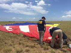 NTSB: Balloon hit power lines before crashing in Texas field, killing 16