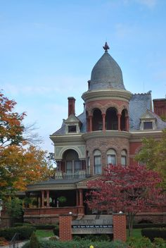Seiberling Mansion, Kokomo, Indiana The late-Victorian style Seiberling Mansion was built in 1891 by the wealthy industrialist Monroe Seiberling