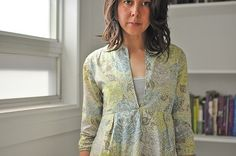 """if only that Liberty of London fabric weren't so dang expensive...from """"make something"""""""