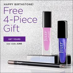 Free Julep Welcome Boxes