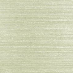 Silk Plain Wallpaper Pale green wallpaper with horizontally printed silk slub in mica to form textured appearance.
