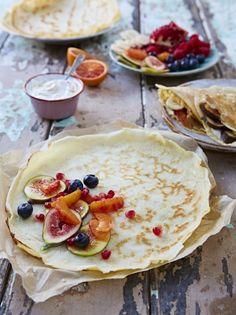 Easy Pancakes | Eggs Recipes | Jamie Oliver