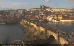 Schatz Bridge - Czech Republic Live webcams City View Weather - Euro City Cam #CzechRepublic #českárepublika #webcam #niceview #travel #beautifulplace #street #view #cestovní