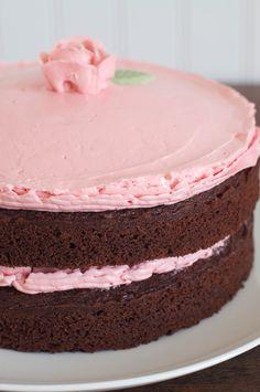 Old Fashioned Tomboy Chocolate Cake