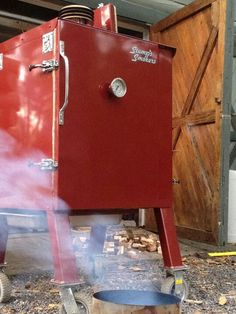 Stumps Smoker by far best on the market.