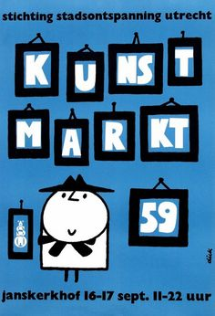 poster by Dick Bruna (1959)