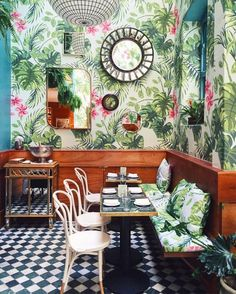 Image result for english tea room interior mural