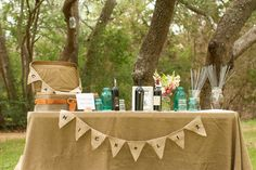 Burlap Table Runner - Tips and Tricks to Decorate Your Wedding Tables - EverAfterGuide