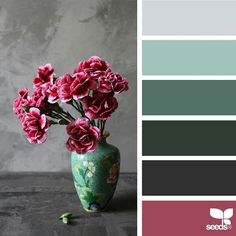 today's inspiration image for { flora palette } is by @thediaryofdi ... thank you, Dilara, for another gorgeous #SeedsColor image share!