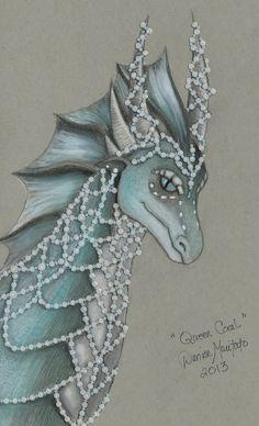 Wings of Fire - Queen Coral by Demari30.deviantart.com on @deviantART