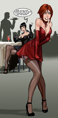 Mistress, would you take Samantha to dinner like this please