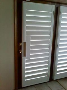 Having trouble finding a window treatment for your French Doors? Let us help, at Marco Shutters we hand craft plantation shutters to fit any size window or door! Click on the picture for more information or check out our Facebook page!