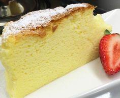Cheesecake Japonesa   Tortas e bolos > Cheesecake   Mais Você - Receitas Gshow Other Recipes, My Recipes, Sweet Recipes, Cookie Recipes, Cake Cookies, Cupcake Cakes, Cupcakes, Delicious Desserts, Yummy Food