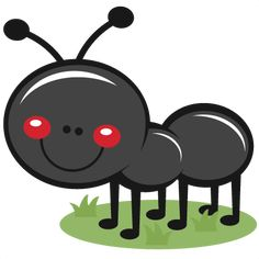 Ant in Grass SVG scrapbook cut file cute clipart files for silhouette cricut pazzles free svgs free svg cuts cute cut files