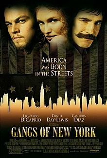 Gangs of New York is a 2002 Crime, Drama film directed by Martin Scorsese and starring Leonardo DiCaprio, Daniel Day-Lewis. Cinema Tv, Films Cinema, I Love Cinema, Martin Scorsese, Leonardo Dicaprio Movies, New York Movie, Gangs Of New York, Gangster Movies, Bon Film