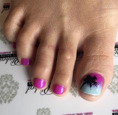 Pedicure Designs, Toe Nail Designs, Feet Nail Design, Pink Pedicure, Feet Nails, Girly Things, Girly Stuff, Mani Pedi, Swag Nails