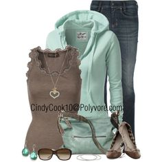 My kind of outfit, created by cindycook10 on Polyvore