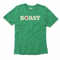 Boast Wordmark Tee - Kelly Green