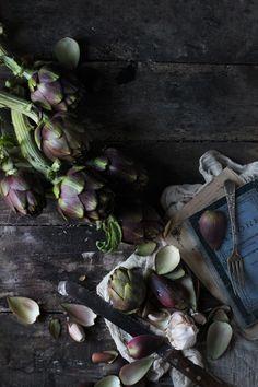 Braised Crumbed Artichokes Romagna Style #recipe