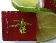 Sangria jello shots