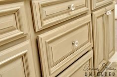Annie Sloan Painted cabinets. Did a couple of tables. Now I want to try the kitchen. Hmmm