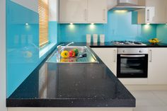 Max-Top Quartz worktop. Featured in November issue of Kitchens & Bathrooms News