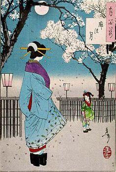 Японская живопись _ Japanese painting