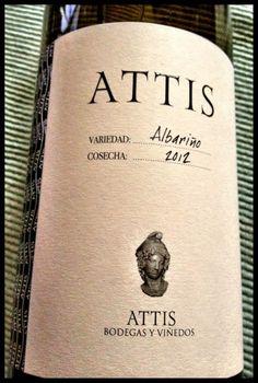 El Alma del Vino.: Attis Bodegas y Viñedos Albariño 2012.