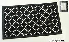 DonRegaloWeb - Felpudo de goma decorado con círculos: Amazon.es: Hogar. Felpudo para la puerta de tu casa De diseño original De fibra de coco Con goma para que no escurra Medidas: 45x75 cm. 26,40€