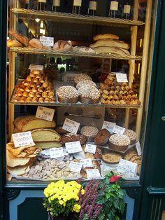 Delicious Pastries in Bergamo, Lombardy, Italy