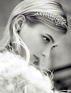 Chanel jeweled headband