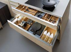 ordnung system besteckkasten schublade unterschrank küche ... - Schubladen Ordnungssystem Küche