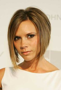 10 Sexy Victoria Beckham& Bob Hairstyles , Platinum blonde, asymmetrical to spherical and uneven bob: suppose bob coiffure is for the faint-hearted? With era-defining types and look, one , Graduated Bob Hairstyles, Inverted Bob Hairstyles, Bob Hairstyles With Bangs, Short Haircuts, Popular Haircuts, Asymmetrical Haircuts, Asymmetric Bob, Stacked Hairstyles, Medium Haircuts