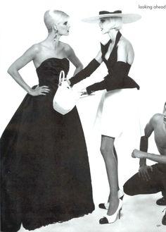 awesome Arquivos | Vogue US Janeiro 1995 por Steven Meisel   [Supermodelos]
