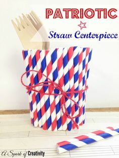 Patriotic Straw Cent